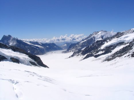 Suisse, glacier