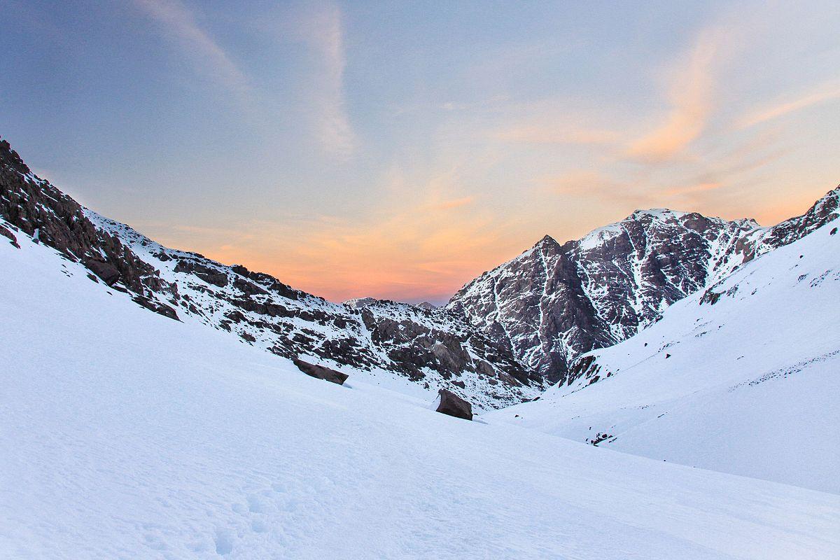 Mont Toubkal, maroc