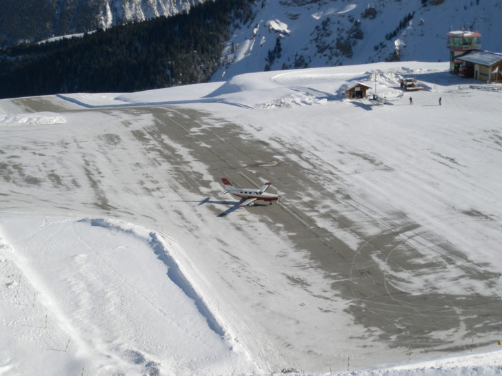 Aéroport de Courchevel