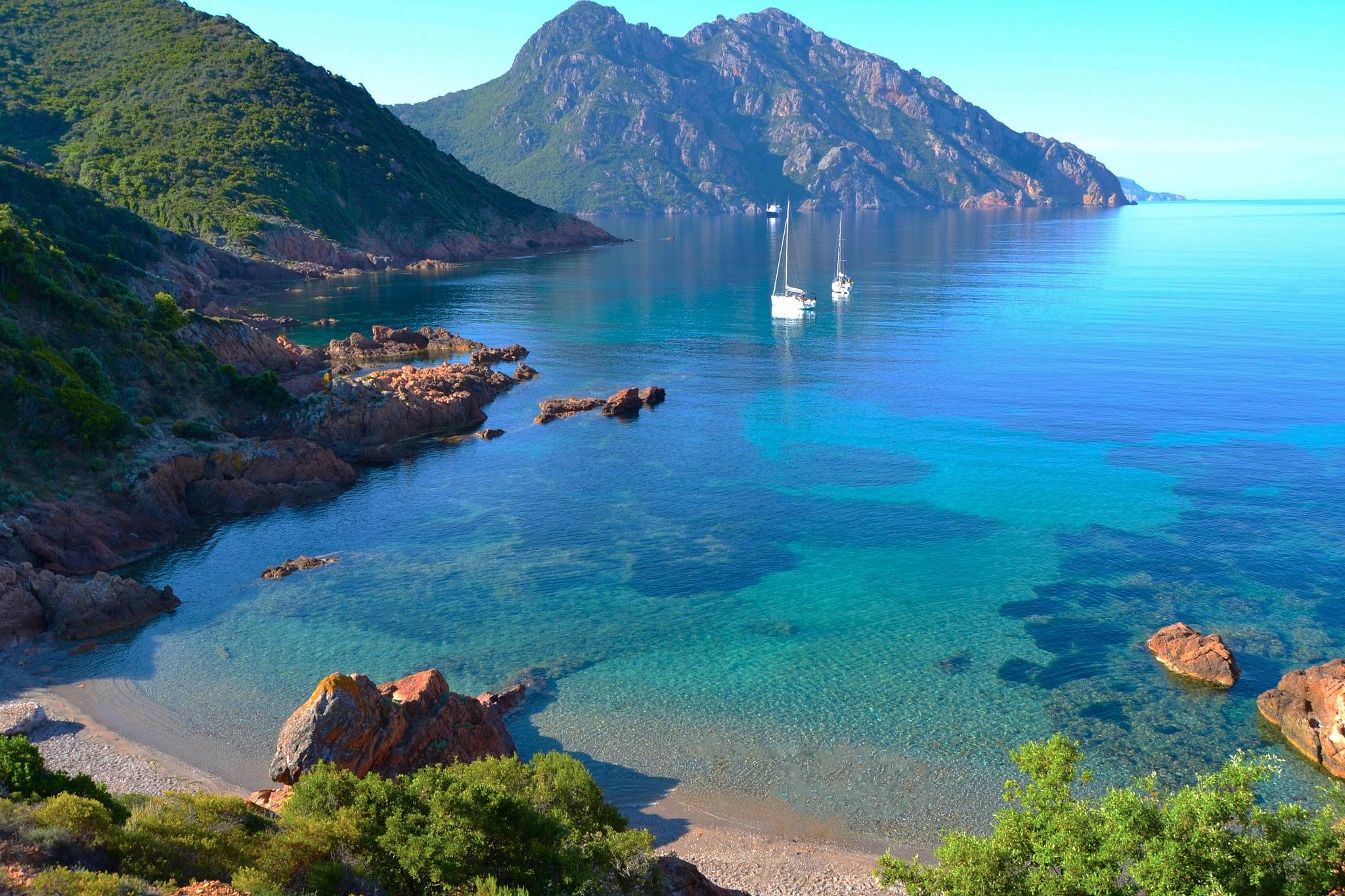 baie de Girolata Corse