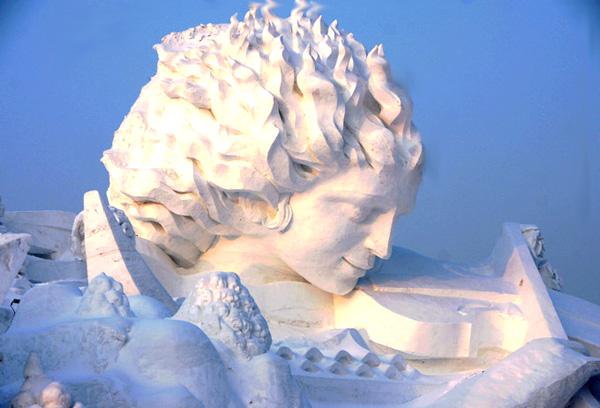 harbin festival sculptures glace