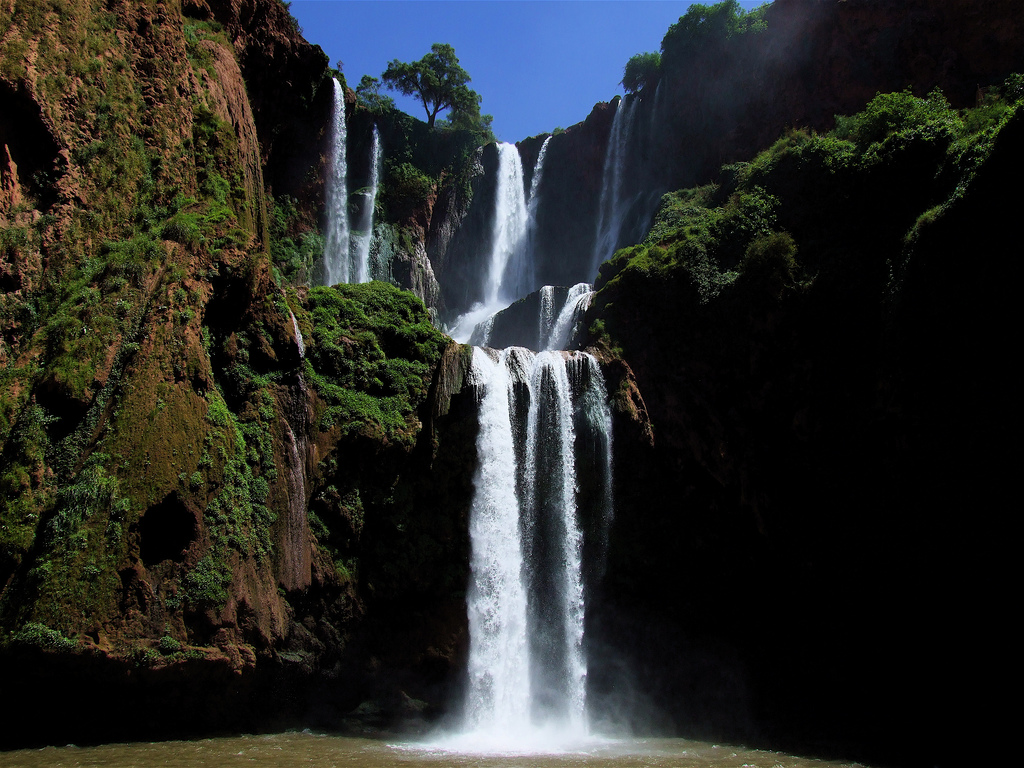 cascades ouzoud Maroc