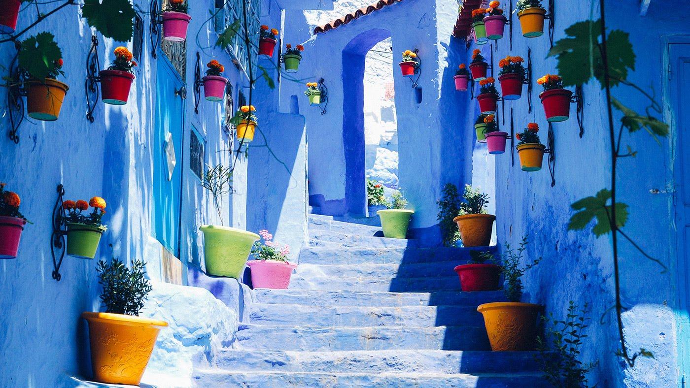 chefchaouen, maroc ville bleue