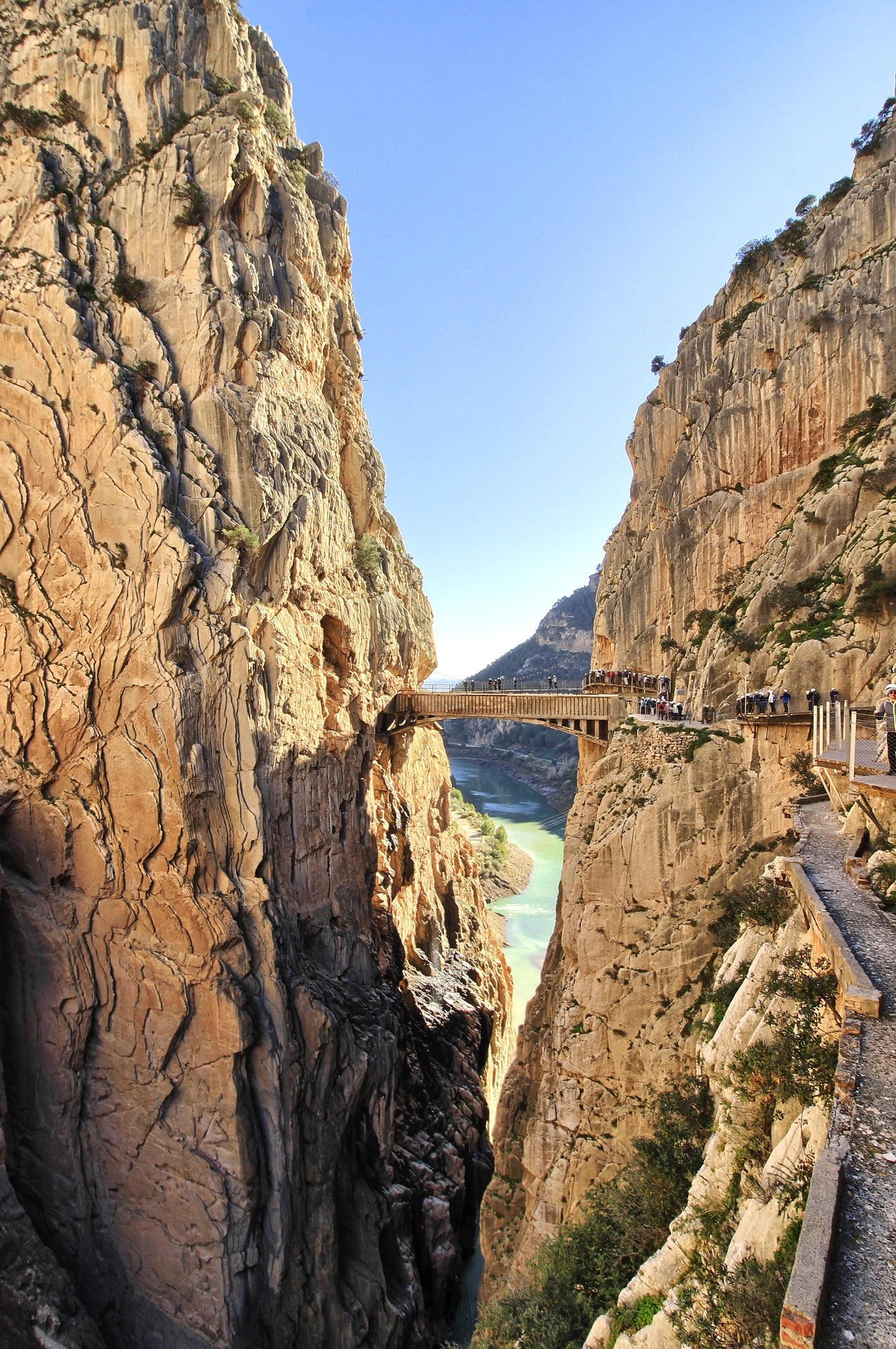Caminito del Rey, Espagne
