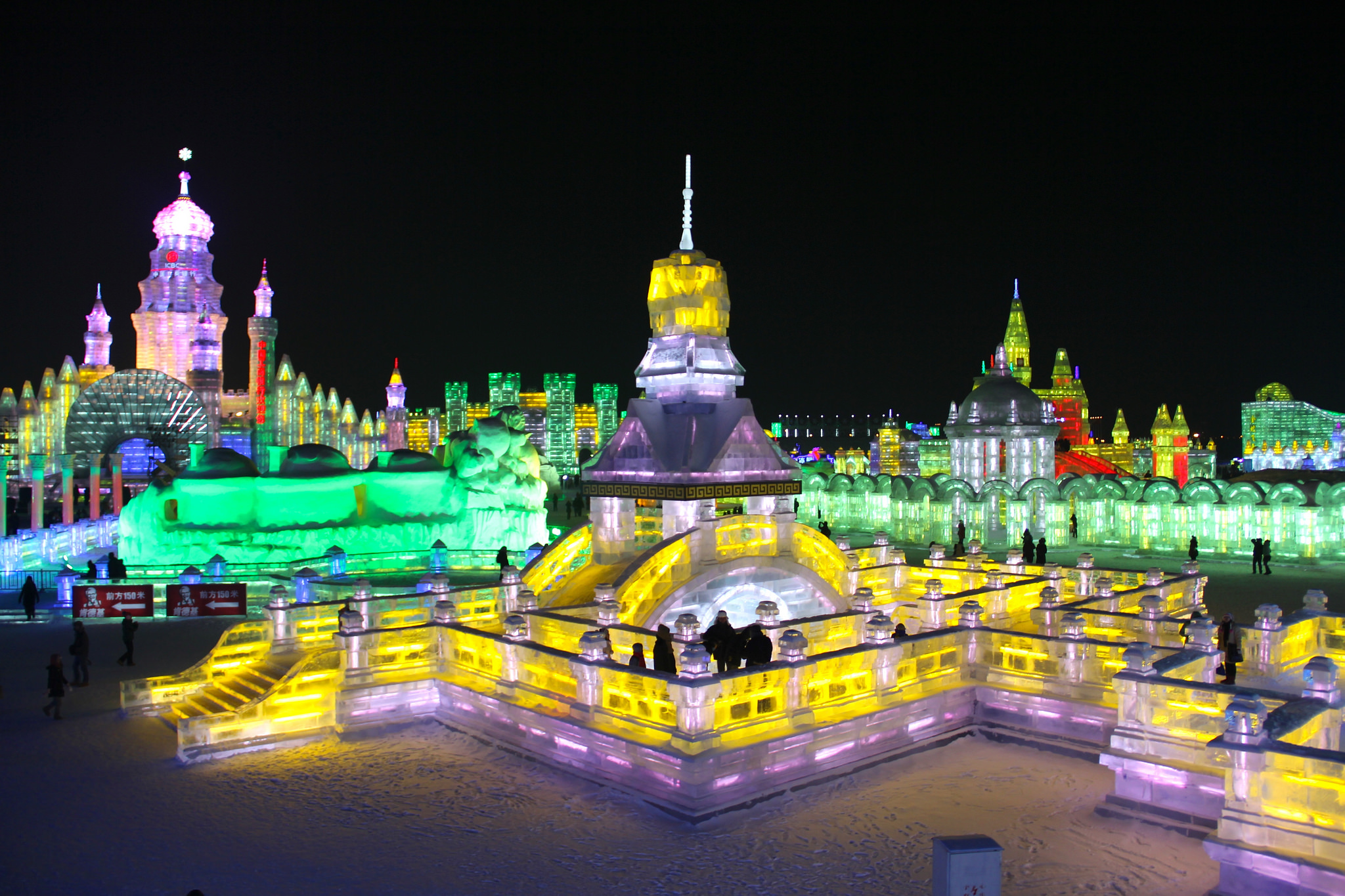 festival glace Harbin Chine 7