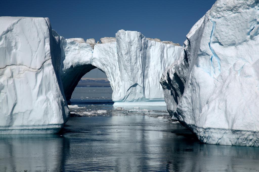 glacier-jakobshavn Groenland