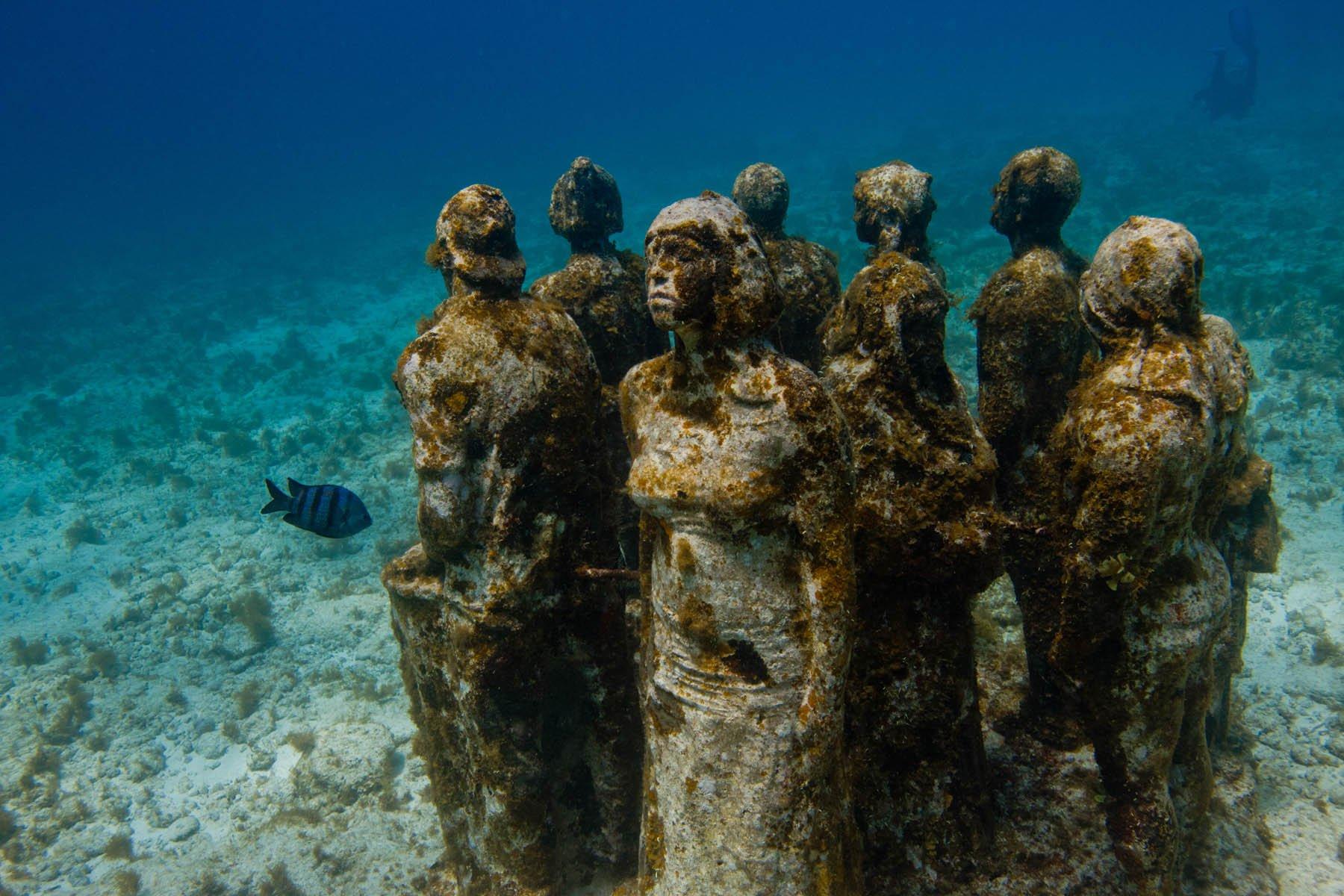 musée sous-marin, Mexique
