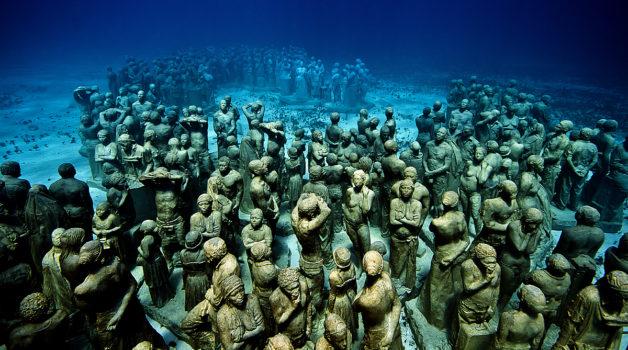 musée sous-marin cancun mexique