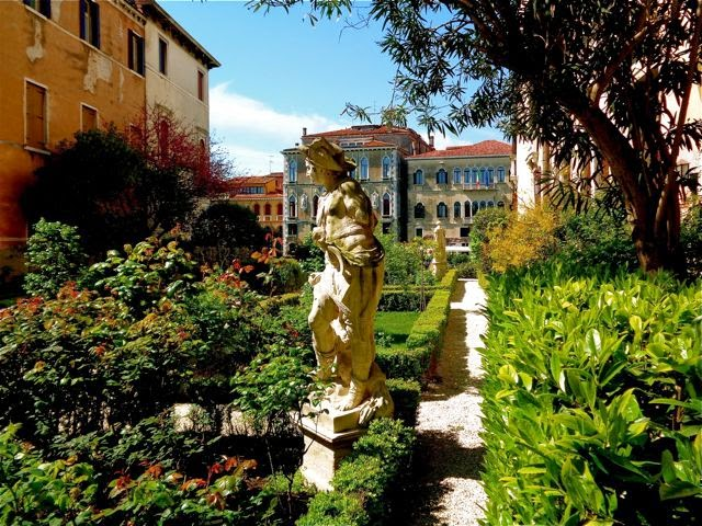 jardin palais cappello Venise