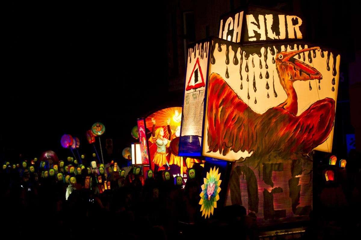 Carnaval Bâle, Lanternes