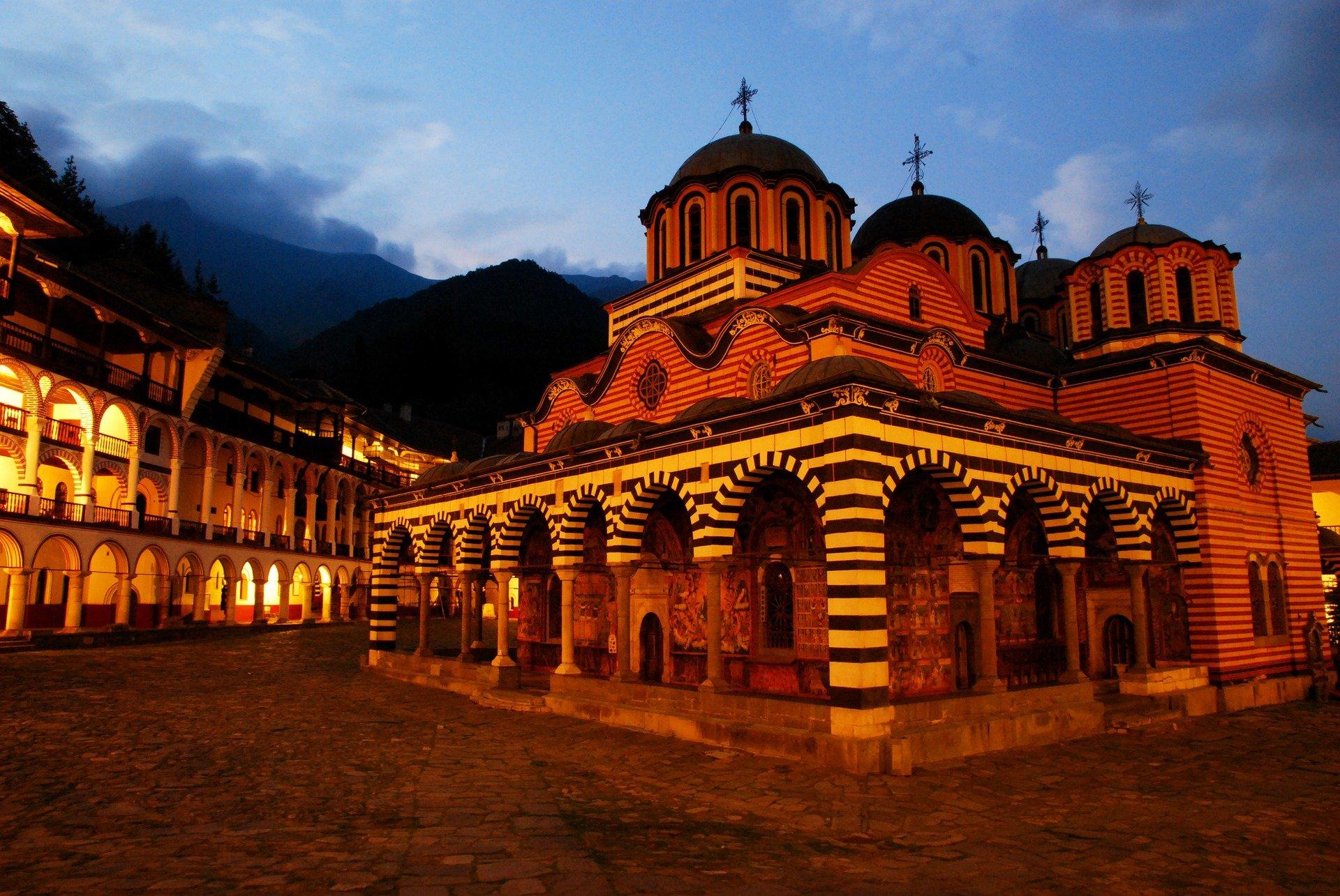 Rila-monastère Bulgarie