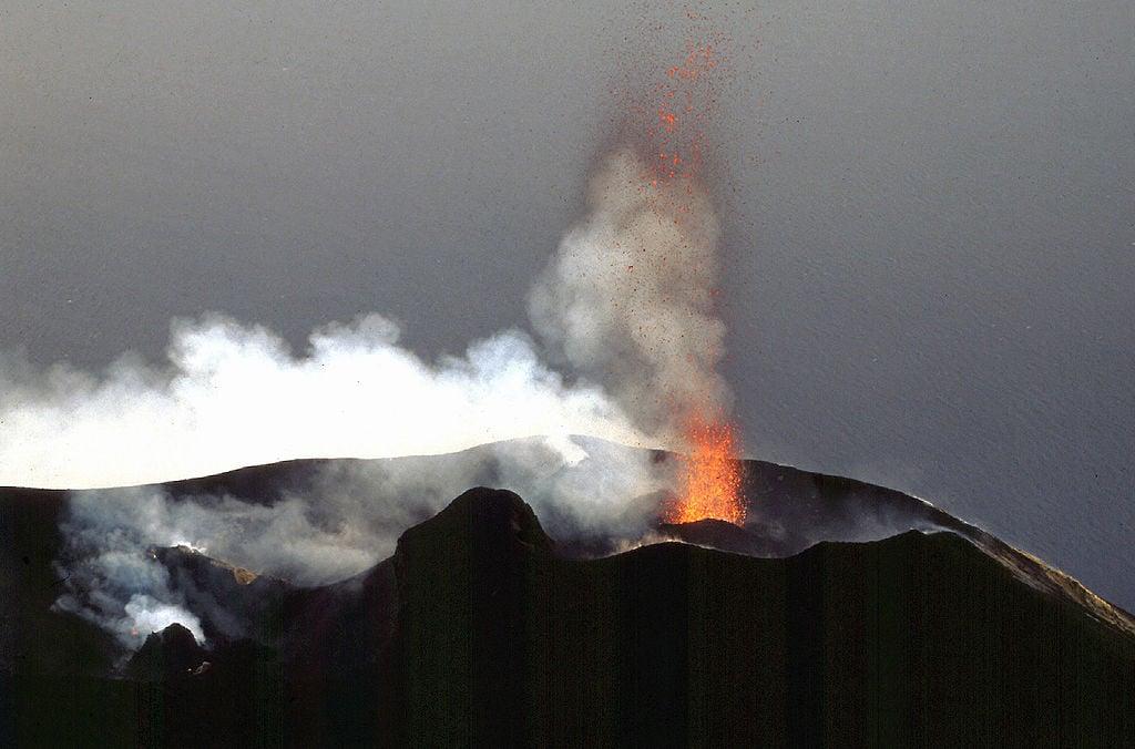 Stromboli Volcan Italie