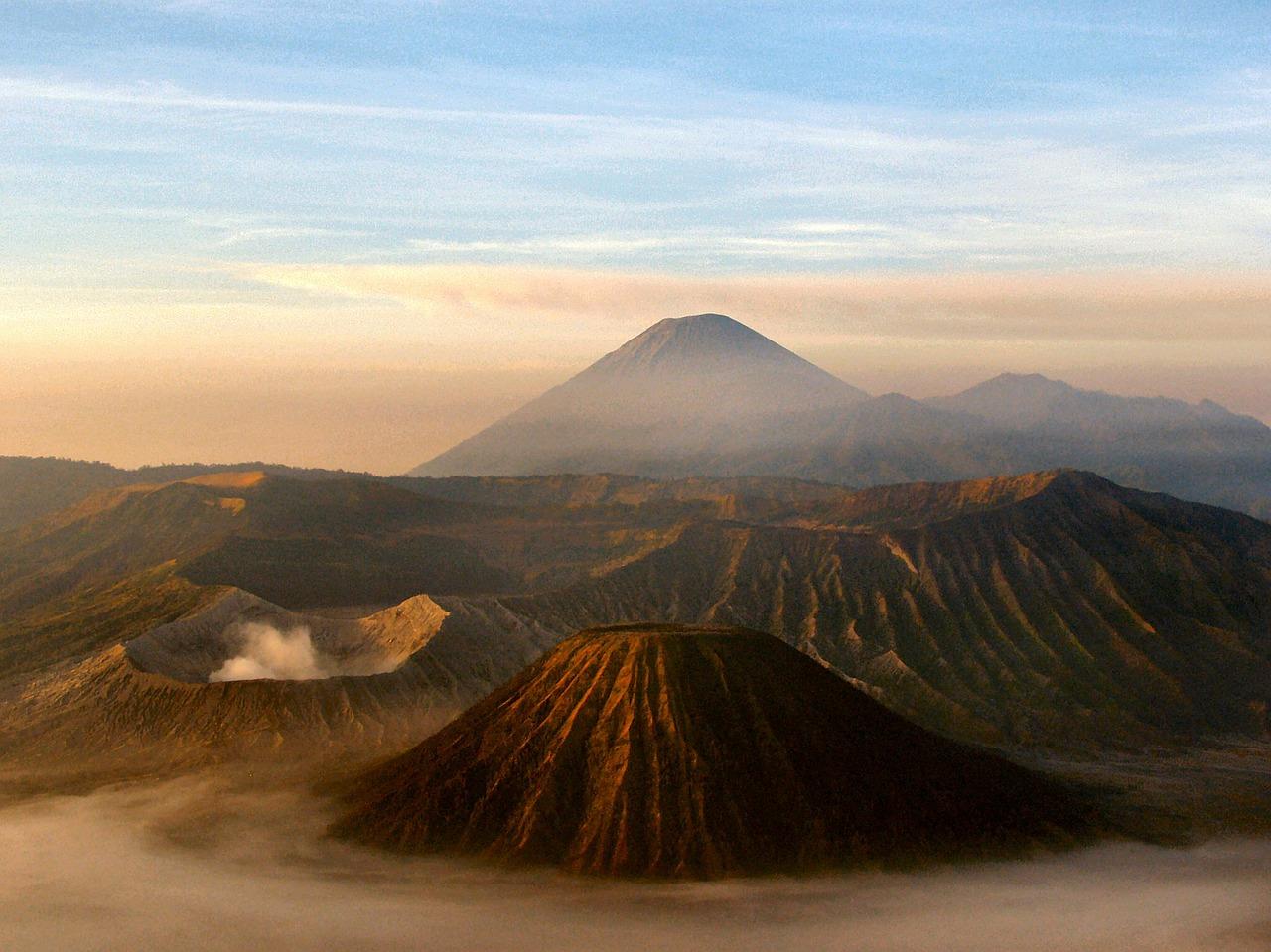 Volcan, Mont Bromo Java
