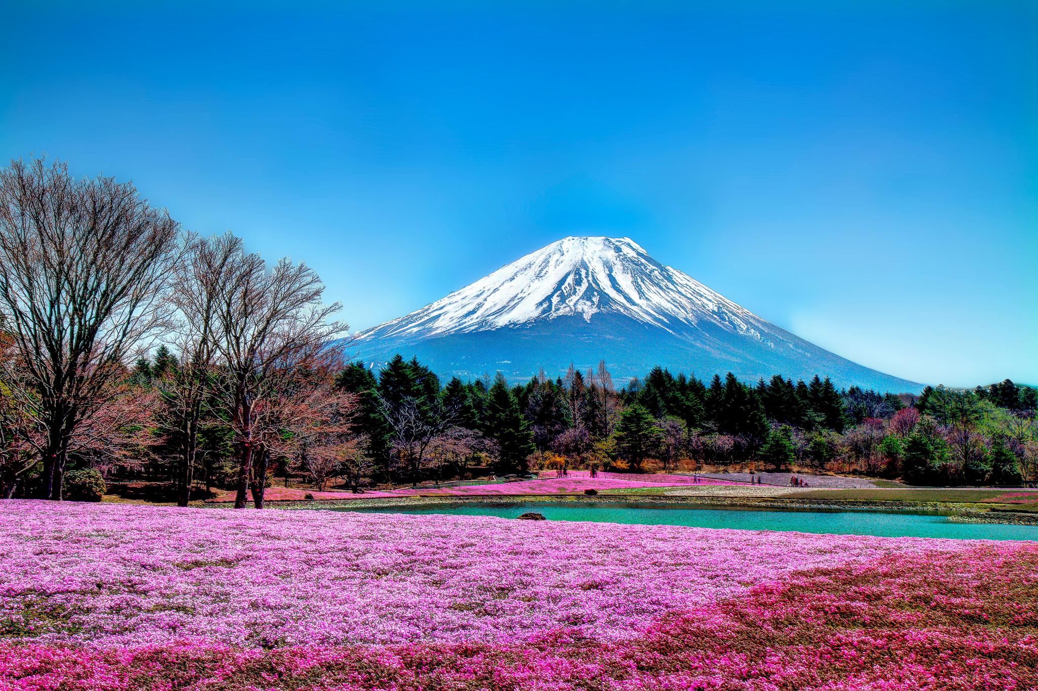 Volcan Mont Fuji, Japon