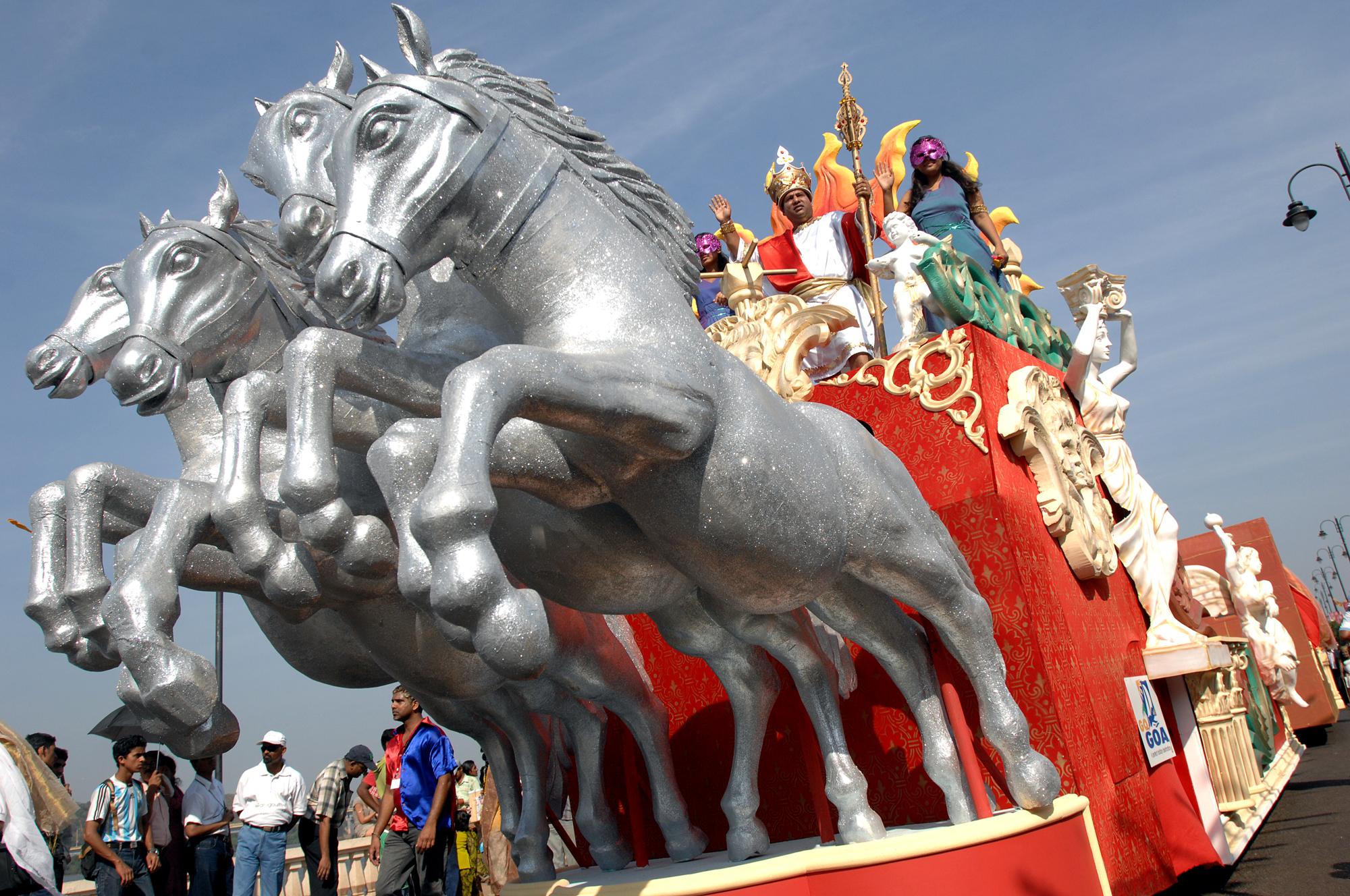 carnaval GOA, Inde