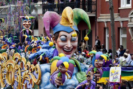 carnaval nelle orléans USA