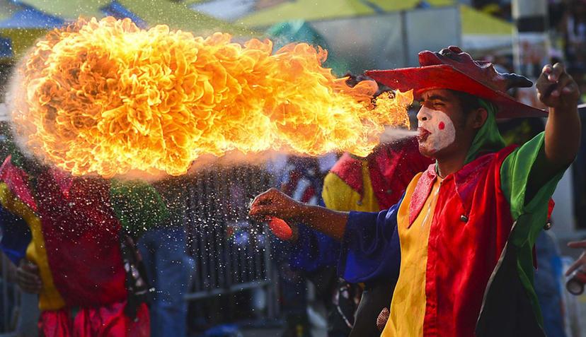 colombia carnival barranquilla