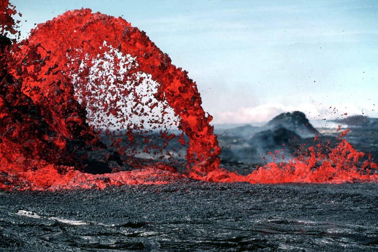 lave volcan