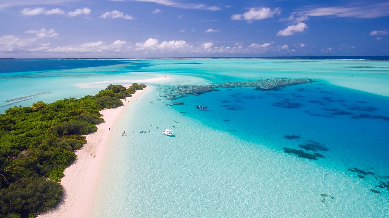 maldives mer turquoise
