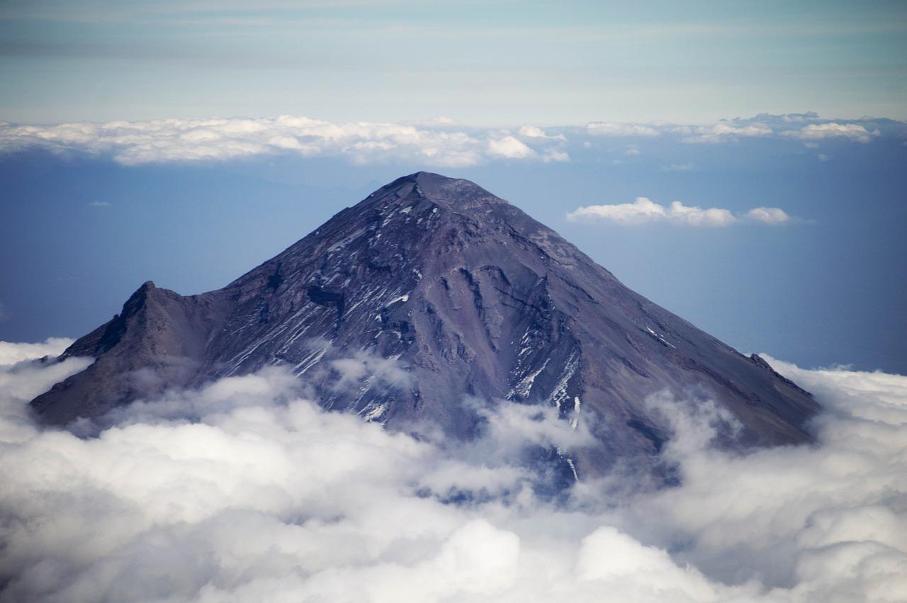 popocatepetl- volcan mexique
