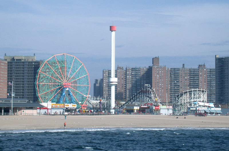 Coneyisland, plage NYC insolite