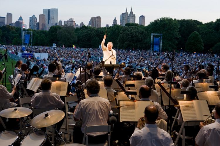 New York Philharmonic dans les parcs