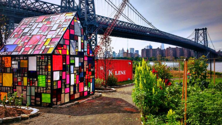 North Brooklyn Farm, NYC insolite