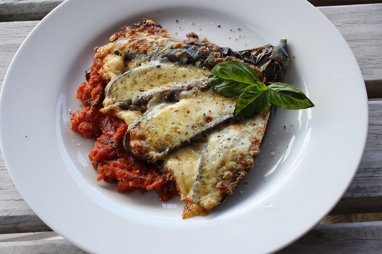 aubergines à la parmigiana, recettes italie