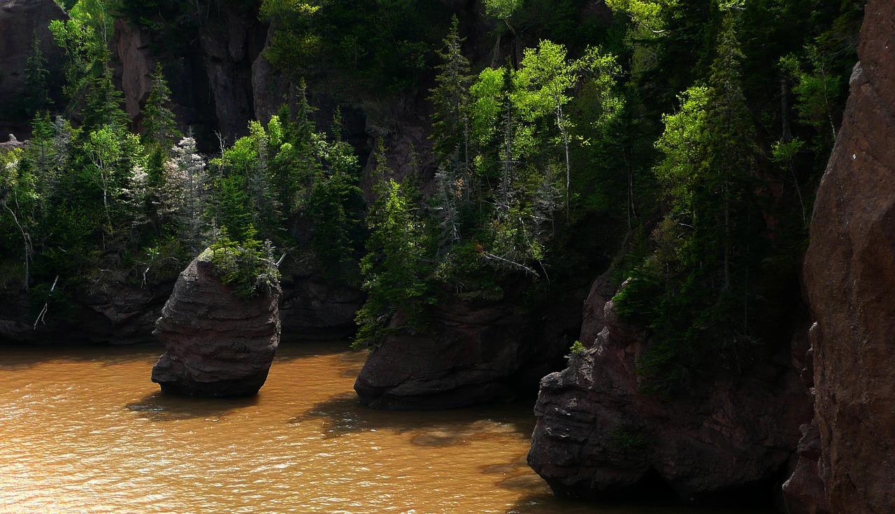 hopewell-rocks-Baie de Fundy Canada