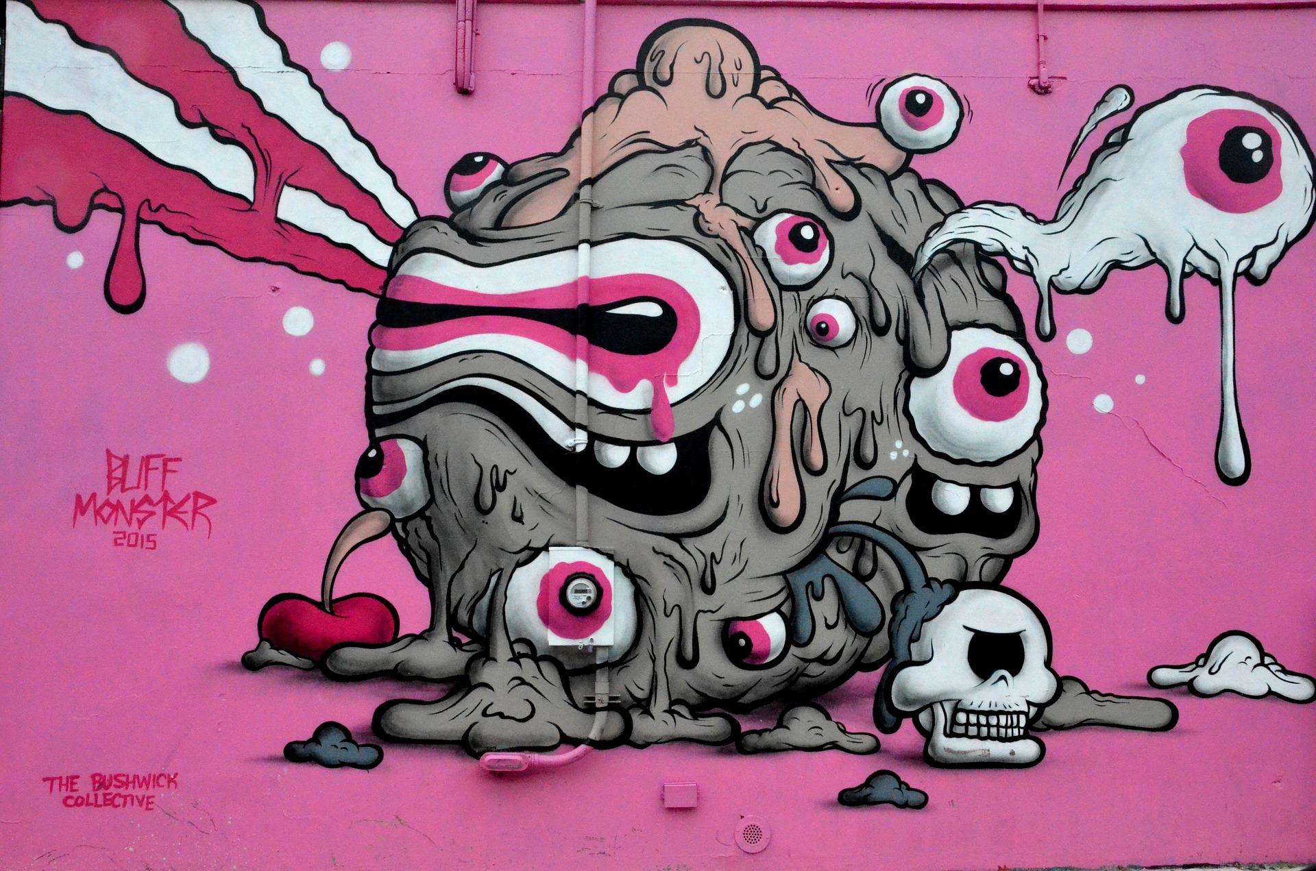 Graffiti NYC insolite