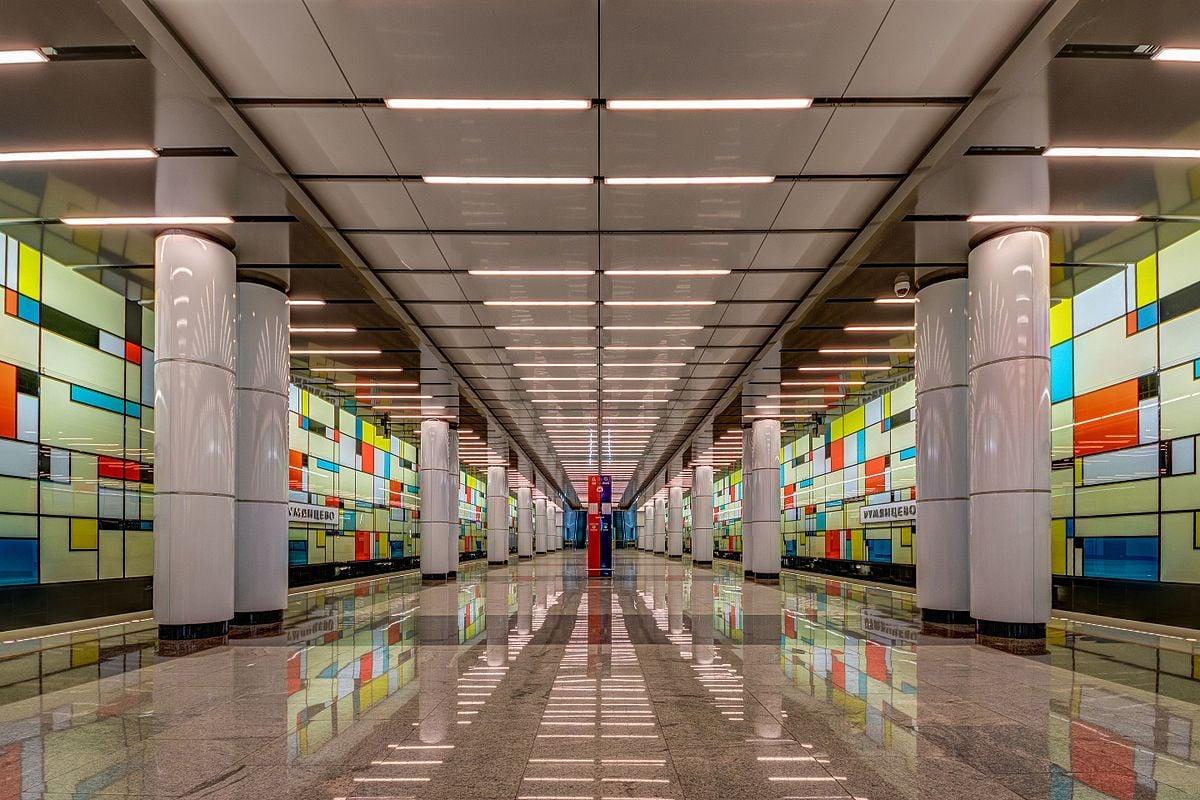 Moscou Metro_ moderne