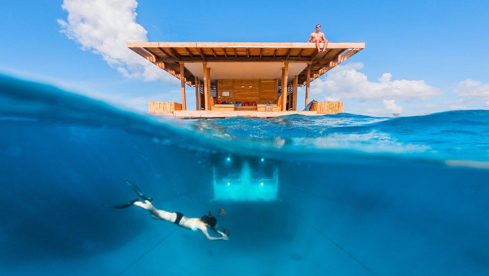Le manta resort à Zanzibar