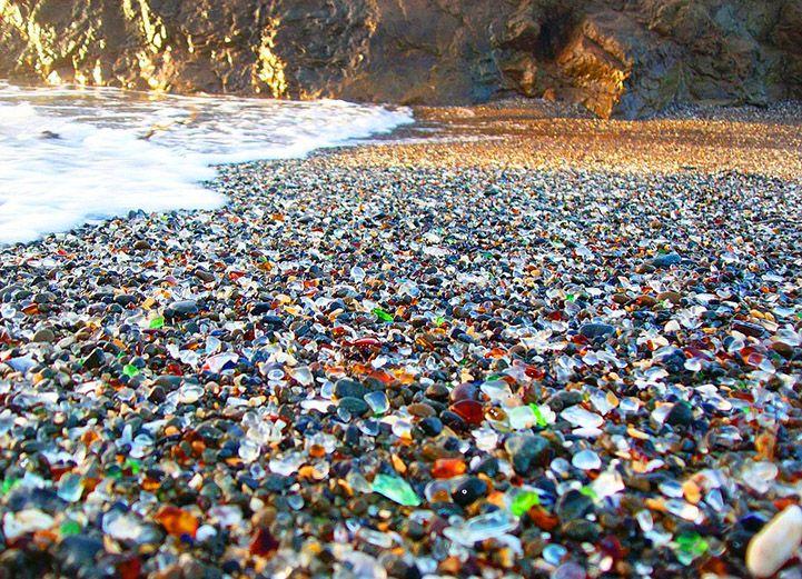 plage de verre, californie 4