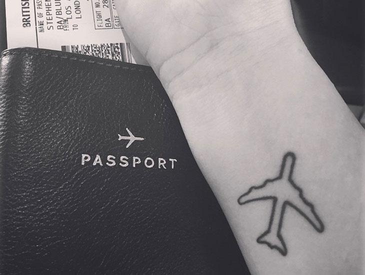 22 Idees De Tatouages De Voyage Qui Donnent Envie De Partir