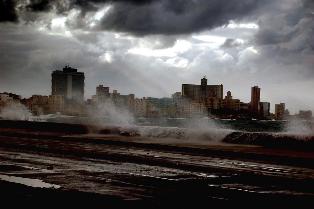 Cuba, La Havane Bord de mer