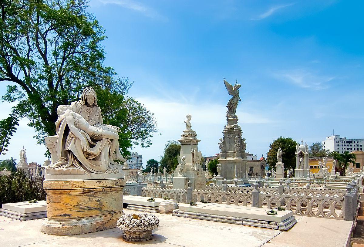 Cuba, La Havane, cimetière C.Colomb