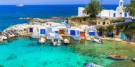 Cyclades, port