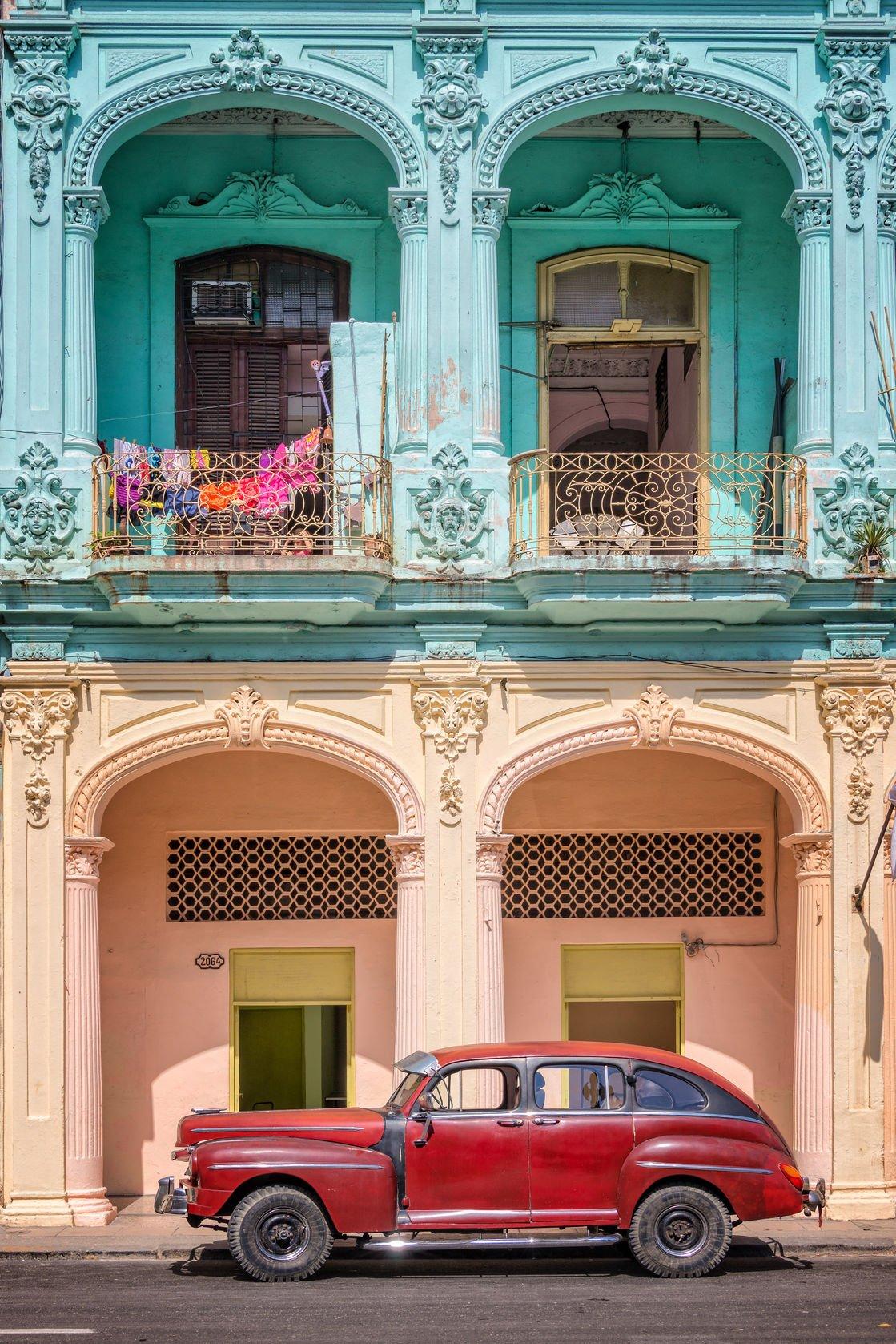 La Havane, Vieilles voitures1