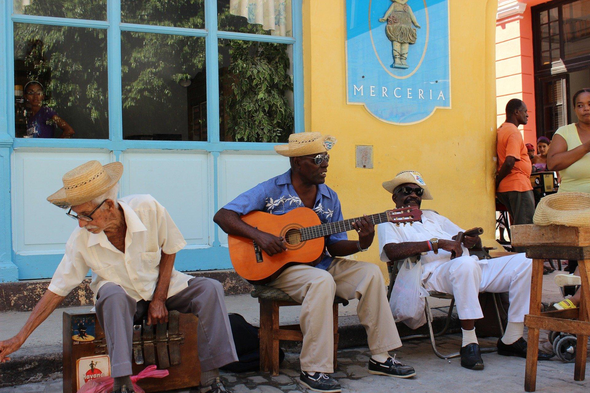 La Havane, orchestre de rue