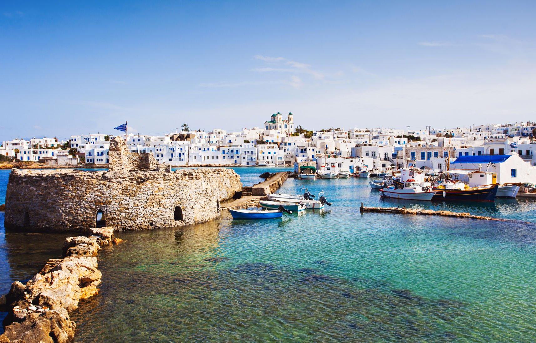 Village pêcheurs, Naoussa, Paros, Cyclades