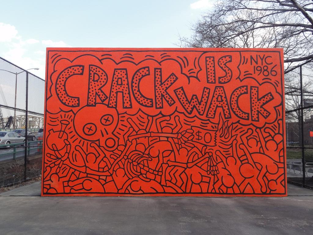 K. Haring NYC Crack is wack