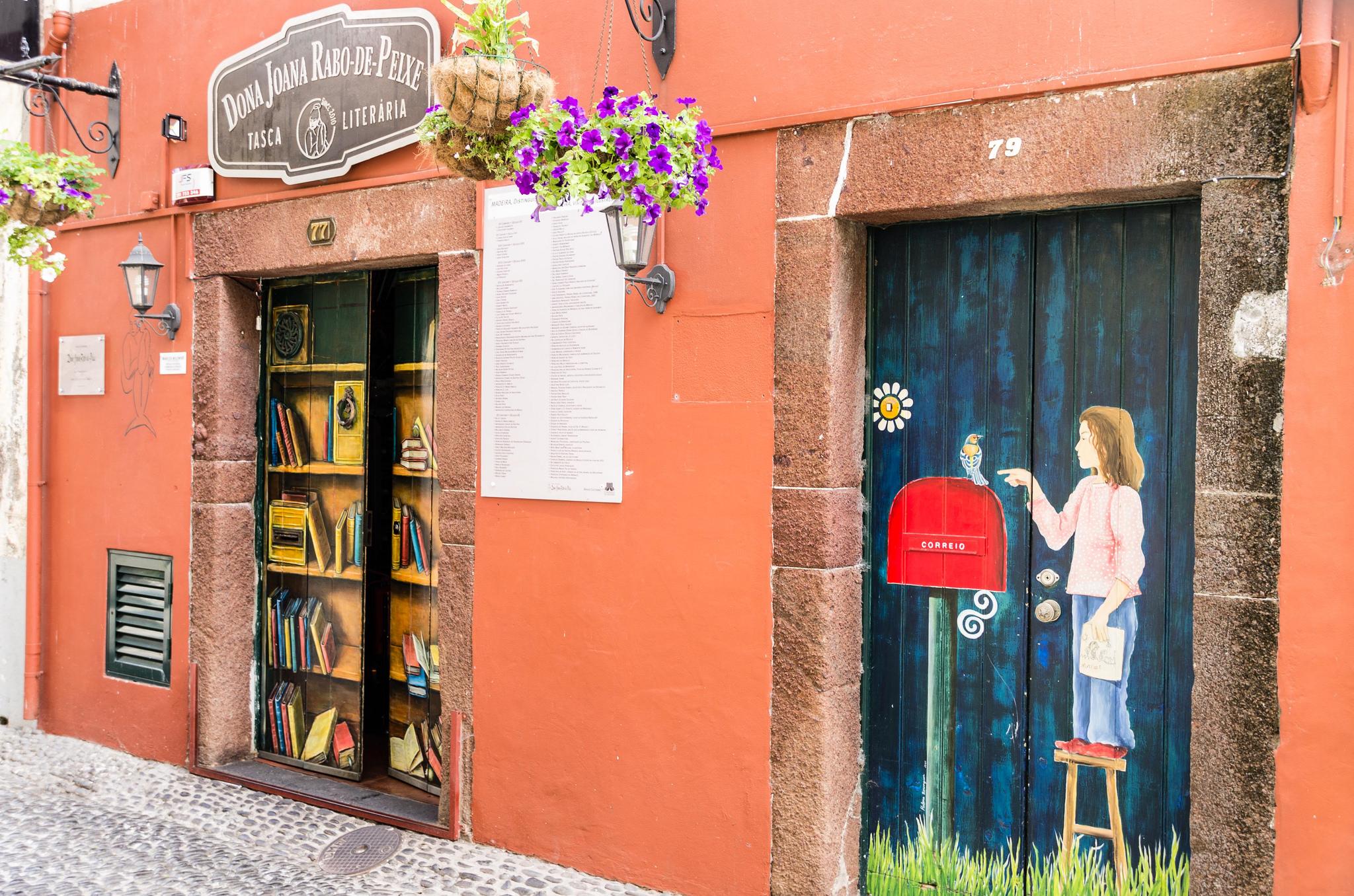 Les portes colorées de Funchal