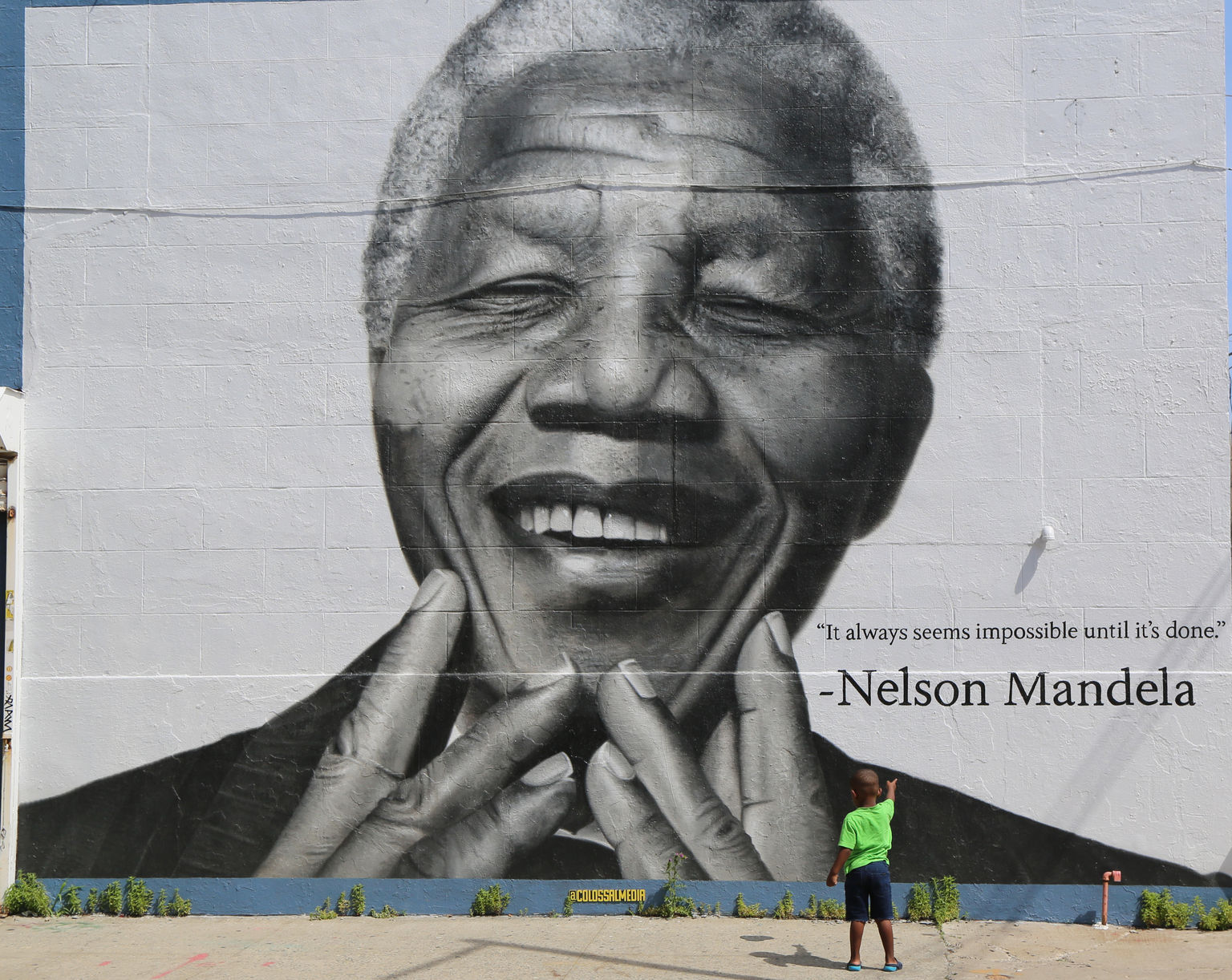 Nelson Mandela, Brooklyn