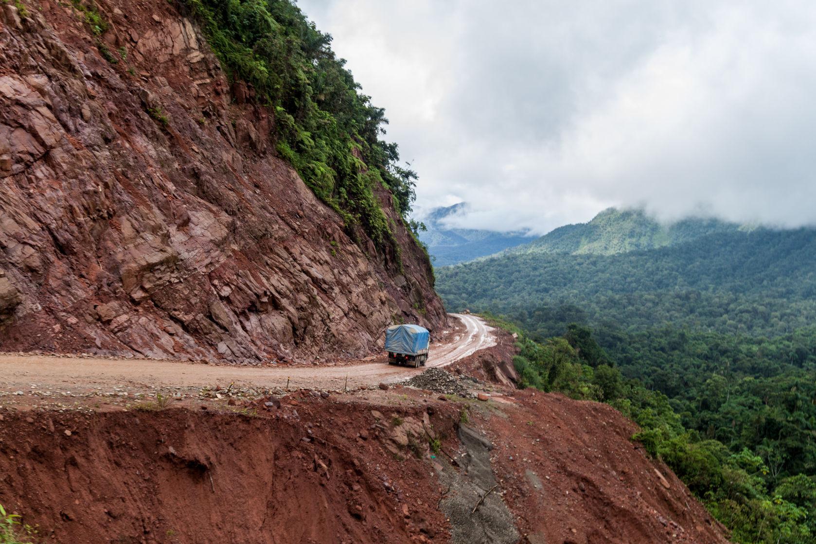 Route de la mort, Bolivie