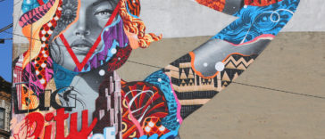 Street art NYC T.Eaton