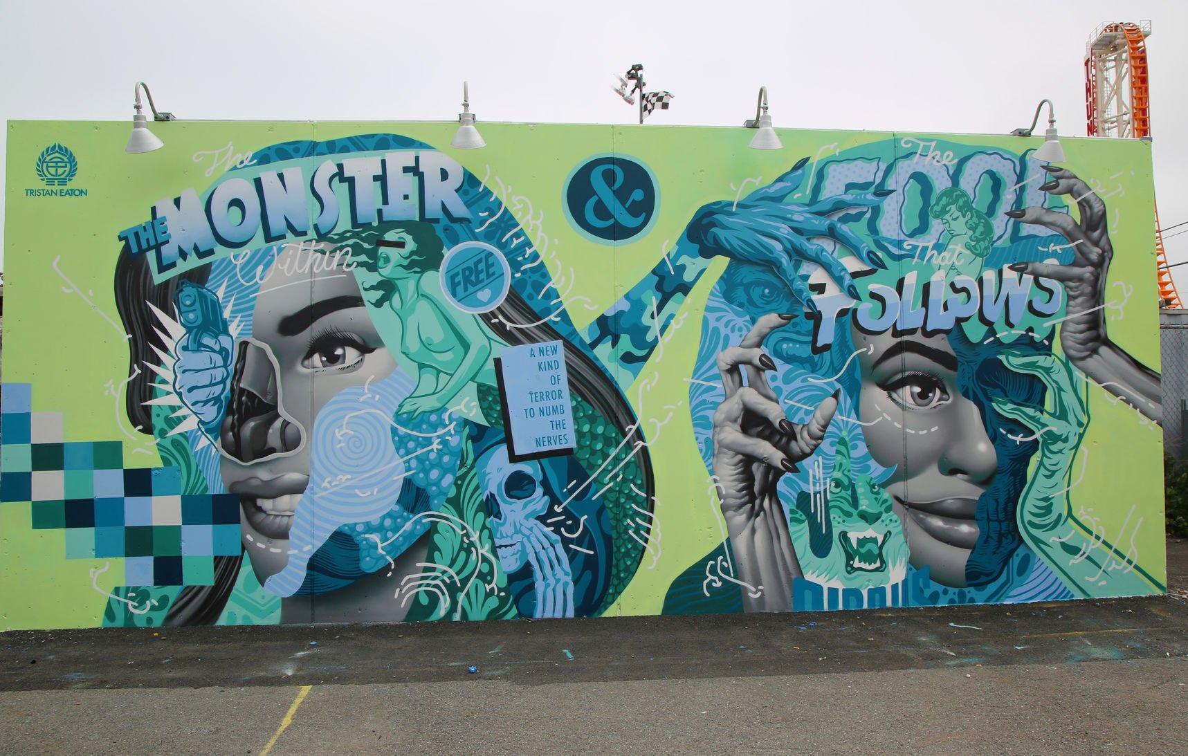 Street art NYC, Tristan Eaton