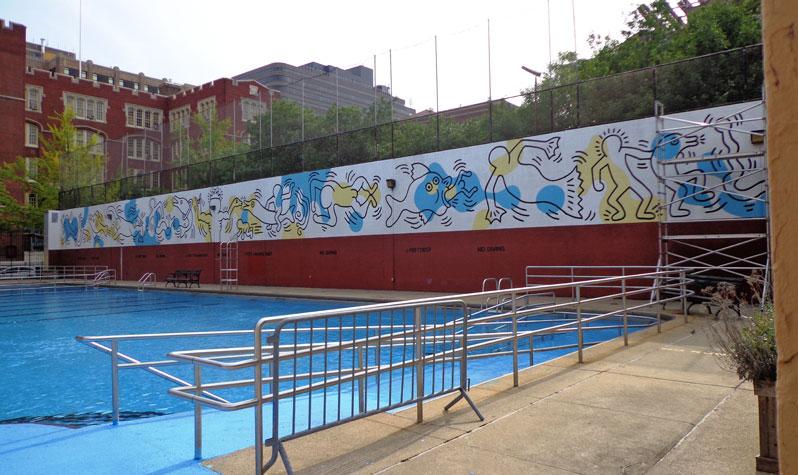 NYC, Keith-Haring-carmine-pool