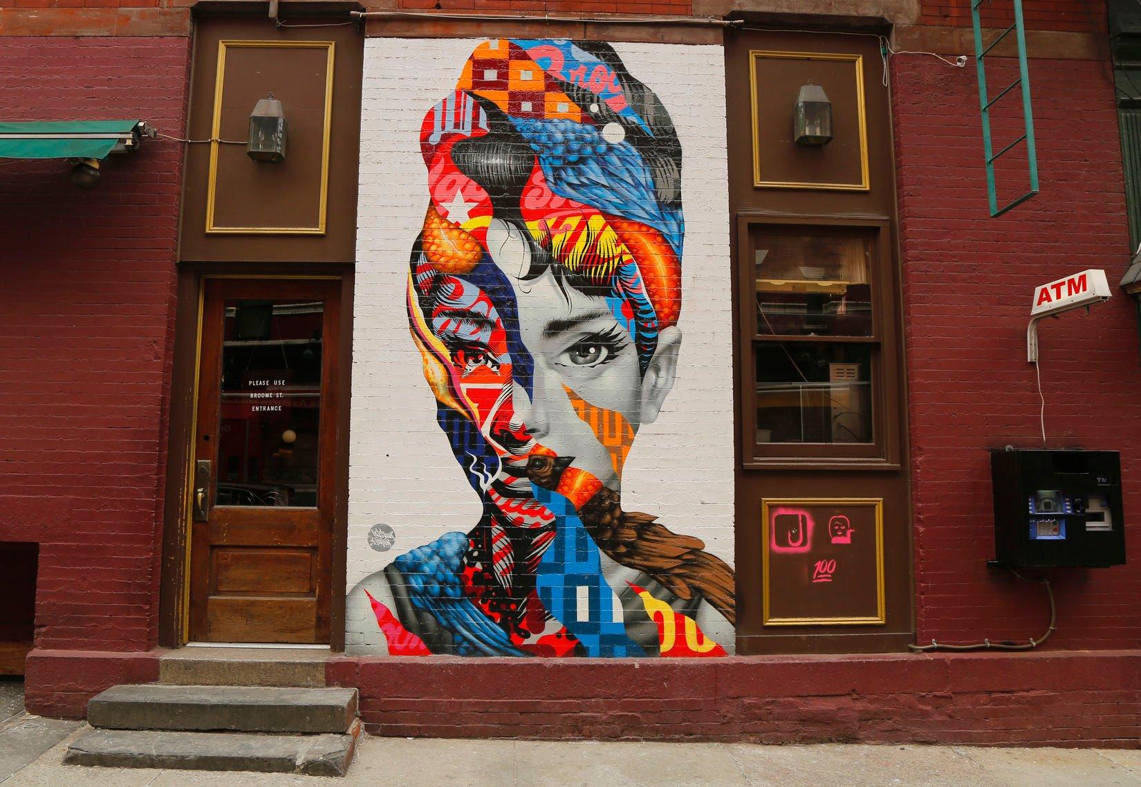 little italy new york street art Tristan Eaton