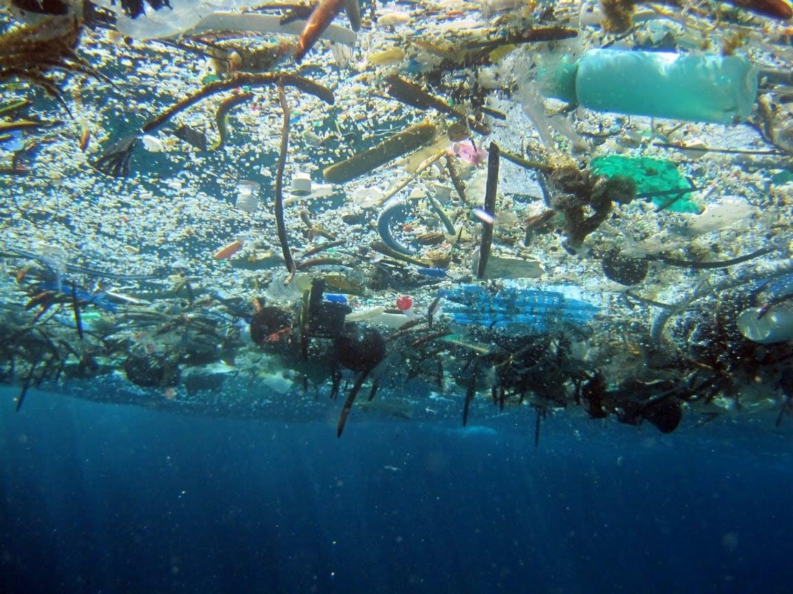 vortex plastique océan