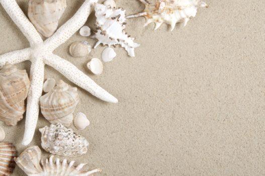 Sand'art sur la plage pour occuper les enfants